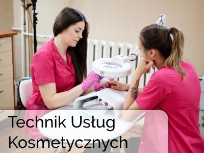 Technik usług kosmetycznych szkoła policealna medyczne studium zawodowe w Łukowie
